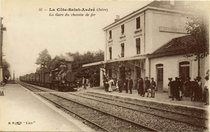 the hector berlioz website la c te saint andr old railway station. Black Bedroom Furniture Sets. Home Design Ideas
