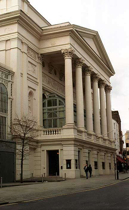 The hector berlioz website berlioz in london royal opera house 2 for Royal opera house covent garden