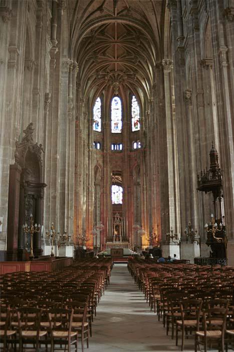Site hector berlioz berlioz paris glise saint eustache 6 for Domon saint eustache