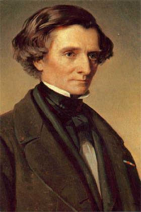 "The original portrait is in the ""Liszt-Haus"" in Weimar; a reproduction is on display in the Musée Hector Berlioz in La Côte Saint-André. - hb10"