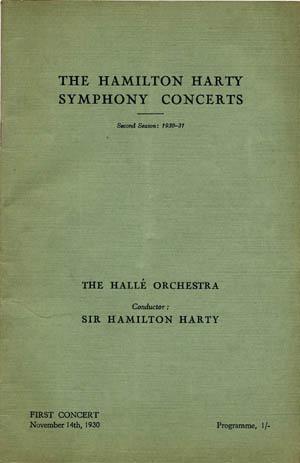 The Hector Berlioz Website - Champions: Hamilton Harty